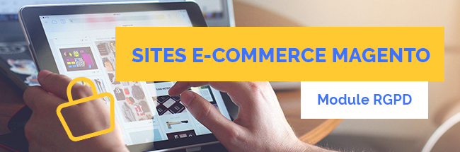module RGPD sites ecommerce magento