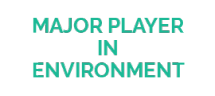 Major player in environment - logo